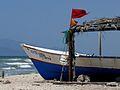 Peñero en Playa La Restinga.JPG