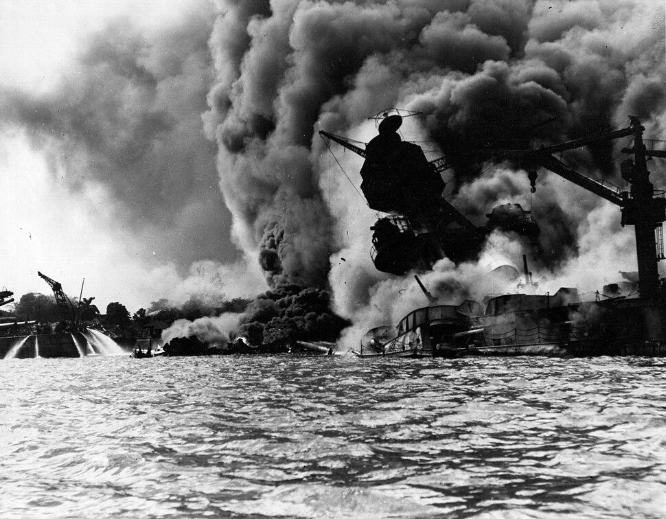 Pearl Harbor Attack, 7 December 1941 - 80-G-19942