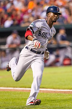 Pedro Ciriaco - Ciriaco with the Boston Red Sox