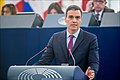 Pedro Sánchez We must protect Europe, so Europe can protect its citizens (45848802885).jpg