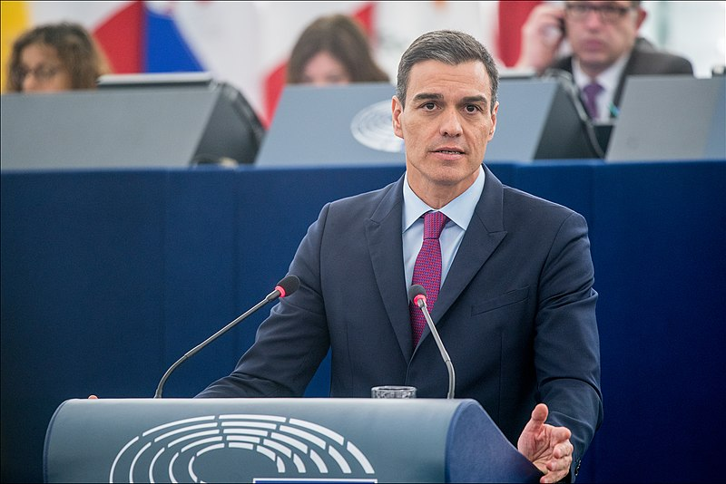 File:Pedro Sánchez We must protect Europe, so Europe can protect its citizens (45848802885).jpg