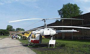 Kamov Ka-26 - Kamov Ka-26 in aviation museum, Peenemünde, Germany
