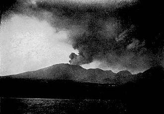 Mount Pelée - 1902 eruption