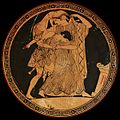 Peleus and Thetis attic red figure kylix by Douris Painter ca 490BCE 1200 cropped.jpg