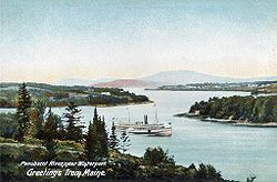 Penobscot River in 1906