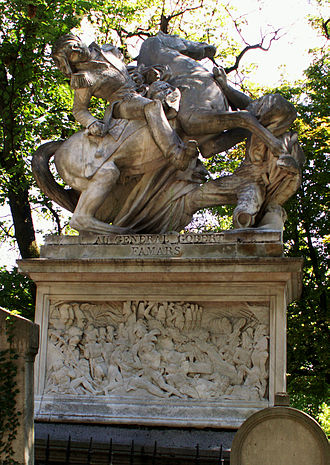 David d'Angers - Monument to General Gobert (Père Lachaise)