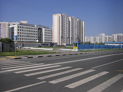 How to get to Перервинский Бульвар with public transit - About the place