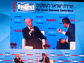 Peres at The Israel Busness Conference 2015.jpg