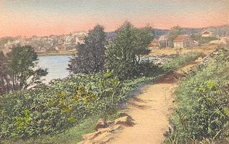 Ogunquit, Maine - Image: Perkins Cove & Marginal Way
