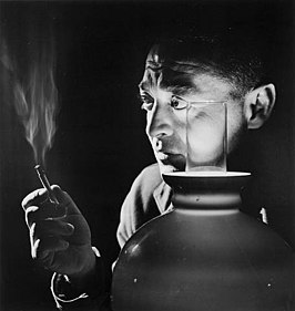 Peter Lorre in 1946 (foto van Yousuf Karsh)
