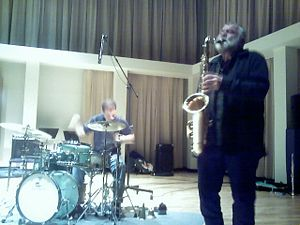 Peter Brötzmann - Brötzmann on tenor saxophone, Minnesota Sur Seine, 2006