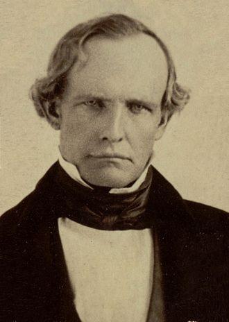 Peter Hardeman Burnett - Image: Peter Hardeman Burnett circa 1860