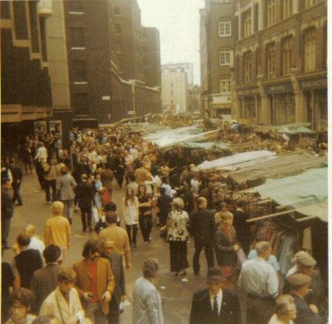 Petticoat Lane London 1971