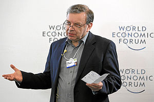 Philip Campbell (scientist) - Philip Campbell speaking at the World Economic Forum in Davos in 2013