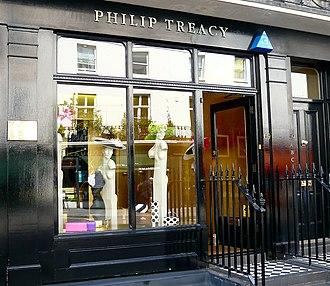 Philip Treacy - Philip Treacy's boutique, 69 Elizabeth Street, Belgravia, London.