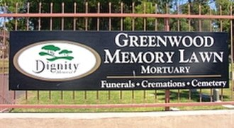 Greenwood/Memory Lawn Mortuary & Cemetery - Image: Phoenix Greenwood Memory Lawn 1902