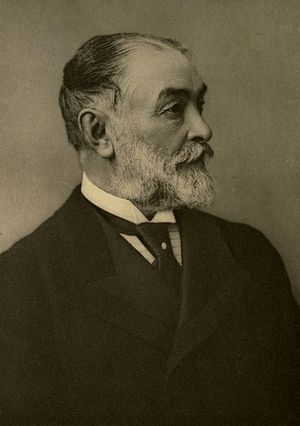 Frederic Harrison - Portrait of Frederic Harrison, by Bassano, 1901.