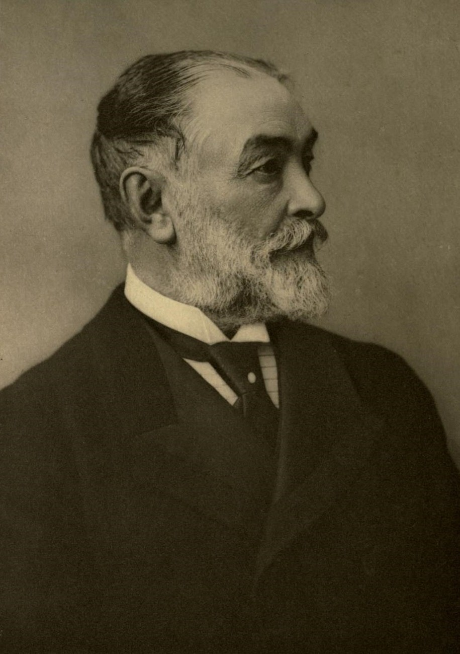 Portrait of Frederic Harrison, by Bassano, 1901.