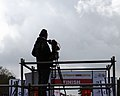 Photographer in Jerusalem Marathon 2013 (8517478049).jpg