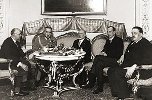 Louis Barthou - Barthou (right) with Polish marshal Józef Piłsudski in 1934