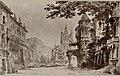 Piazza di Eidelberga, bozzetto di Carlo Ferrario per Leonora (1886) - Archivio Storico Ricordi ICON012184.jpg
