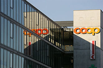 Coop (Switzerland) - Coop in a shopping center in Oberwil