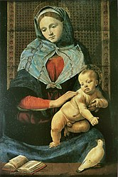 Piero di Cosimo: Madonna and Child with a Dove
