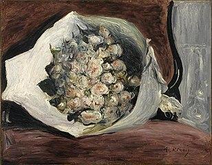 Ram de flors en una llotja