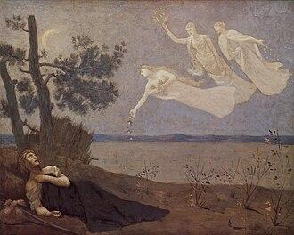 Aisling - Pierre-Cécile Puvis de Chavannes: An Aisling, 1883