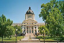 Le Capitole du Dakota du Sud, à Pierre.