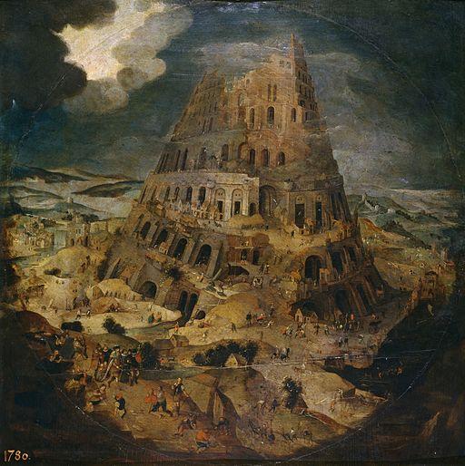 Pieter Brueghel de Jonge - De bouw van de toren van Babel