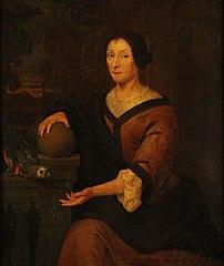 Portret van Geertruyd van der Hey (circa 1640-1720)