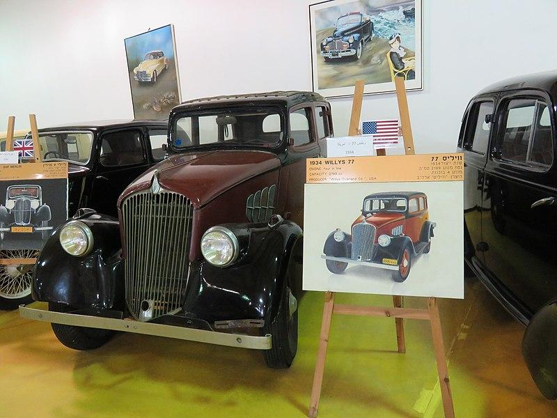מכוניות באוסף של איתן ורטהיימר בתפן