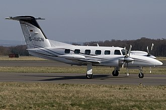 Piper PA-42 Cheyenne - Cheyenne 400 with TPE331 rear exhaust
