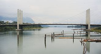 Pitt River Bridge - Image: Pitt River Bridge 2016