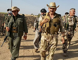 Kurdistan Workers' Party - PKK and Peshmerga fighters, 11 August 2015