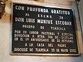 Placa a don Luis Munive Escobar en la Basílica de Ocotlán, Tlaxcala.jpg