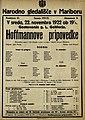 Plakat za predstavo Hoffmannove pripovedke v Narodnem gledališču v Mariboru 22. novembra 1922.jpg