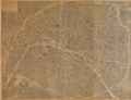 Plan de Paris à vol d'oiseau by Georges Peltier, ca. 1920 - Princeton University Library.png