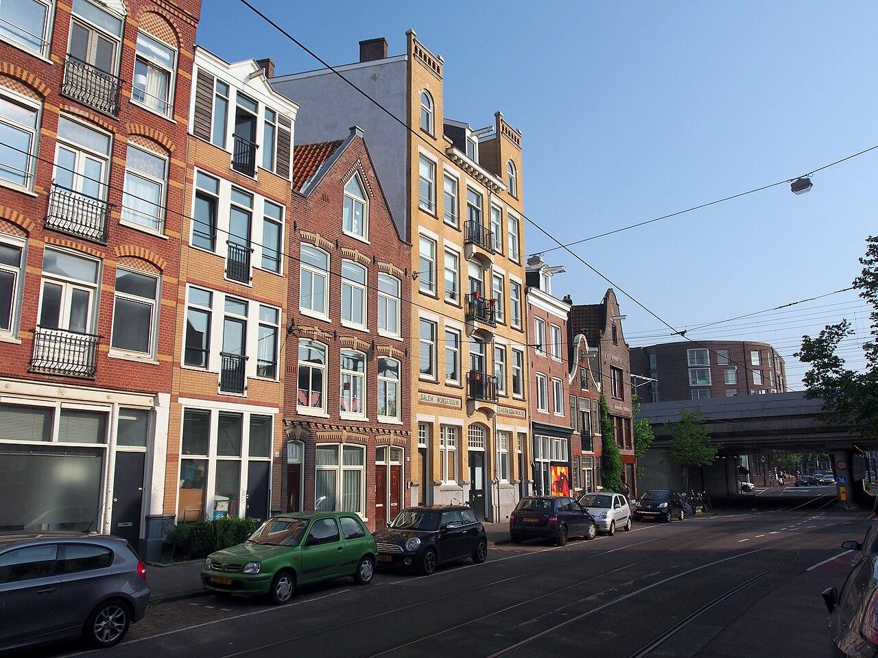Aangeboden door: Stichting Microtoerisme InZicht Fotoblog Amsterdam Wijkgebouw Hervormd Kerk Salem Planciusstraat