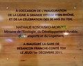 Plaque inaugurale - gare TGV Besançon.jpg