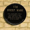 Plaque on the Sheep Wash - geograph.org.uk - 1206662.jpg