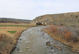 Plateau Creek (Colorado) river in the United States of America