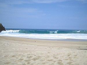 playa Maruata, Michoacan, Mexico
