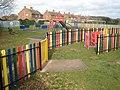 Playpark, Greenway Lane, Knowle - geograph.org.uk - 1180241.jpg