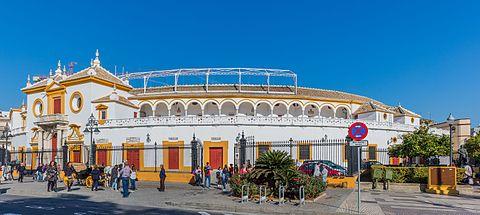 Plaza de toros de la Maestranza Sevilla Espana DD