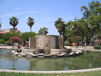 Quillota - Image: Plazade Armas Quillota 3
