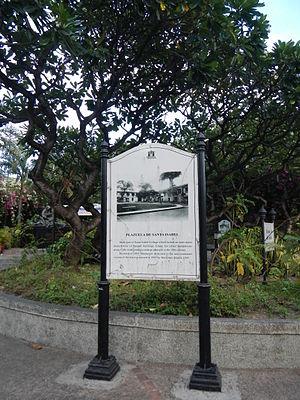 Santa Isabel College Manila - Plazuela de Santa Isabel, Intramuros - part of Santa Isabel College Manila.