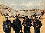 Po locie - piloci myśliwców LiM-2 Marynarki Wojennej, wrzesień 1958 r.jpeg
