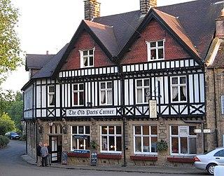 Ashover Human settlement in England